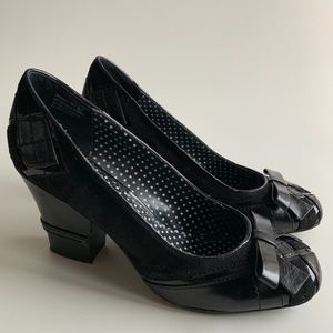 'Not Rated' Black Heel Patent Leather Size 9.5